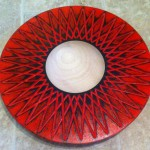 Red Zig-Zag Bowl by Gary Brown